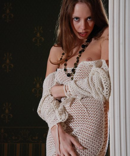 Dispirited puny Natasha unwrapped lacking